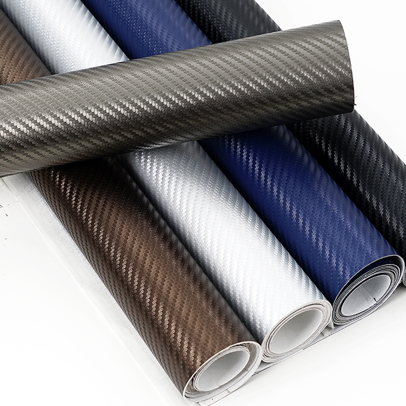 Adhesive Self-adhesive Leather Car Interior External Carbon Fiber