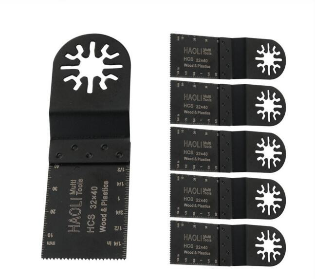 6 pcs 32mm wood drywall Soft plastics Universal Blade for Fein Dremel TCH AEG Makita other
