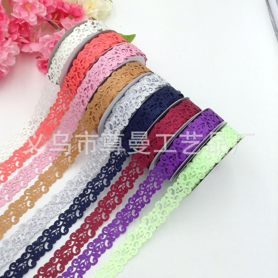 Embossed Ultrasonic Wishful Belt Craft Edging Classic Clothing Home Improvement Accessories Made Of Polyester