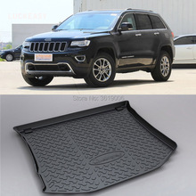 цена на LUCKEASY Non-Slip Waterproof 3D TPO Trunk Boot Cargo Mat Recycled Durable For Jeep Grand Cherokee