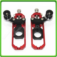 Hight Quality Free Shipping MAD MOTO Motorcycle 2122 Chain Adjuster With Spool KASAWAKI ZX10R 2011 2013