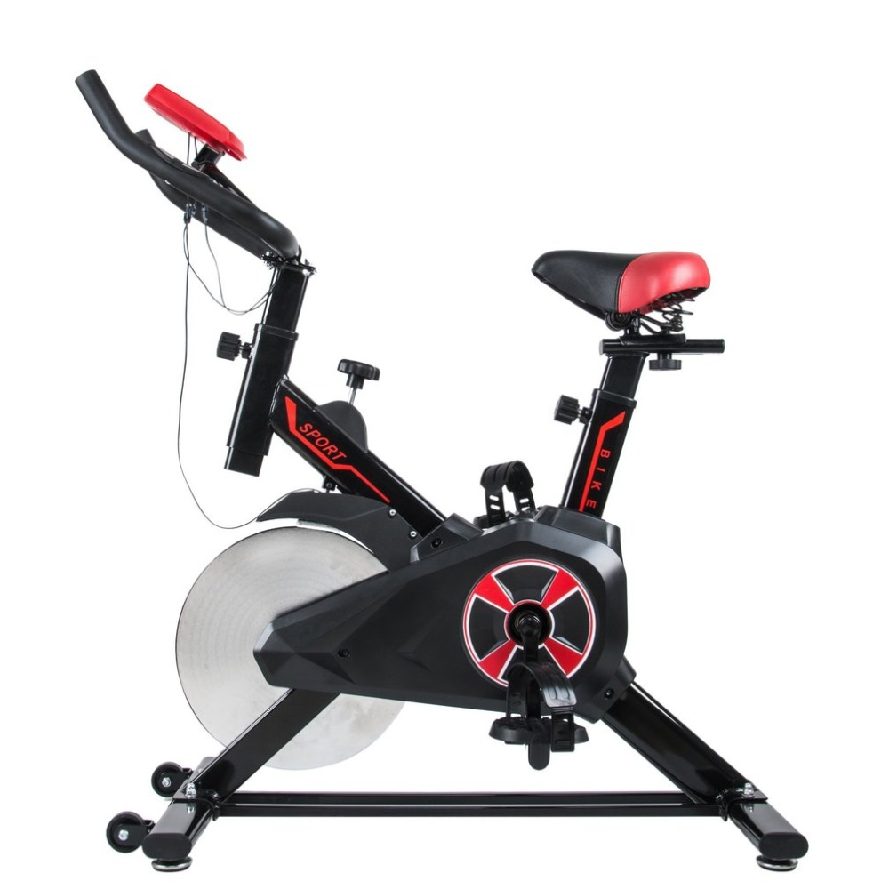 все цены на Home Gym Exercise Bike Bicycle Calorie Fitness Training Low Noise Cycling Machine Sports Body-Building Health Slimming Device онлайн