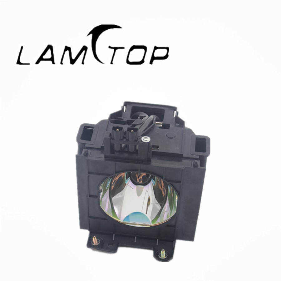 FREE SHIPPING  LAMTOP  180 days warranty  projector lamp with  housing  ET-LAD55  for  PT-DW5000