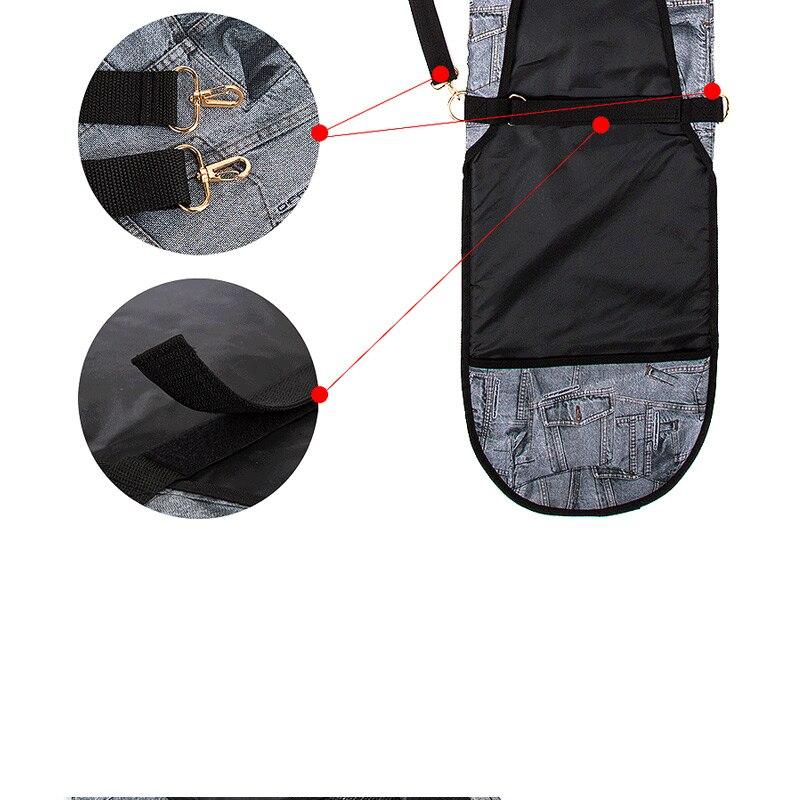 Sacs de Ski mode spéciale sac de Ski sac de Snowboard sac Denim boulettes planche de Ski antidérapant placage couverture - 4