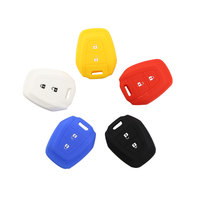 1 Piece 2 Button Soft Silicone Car Key Shell Remote Key Case Cover Fit for Isuzu D-MAX MU-7 MU-X TRUCK Accessories