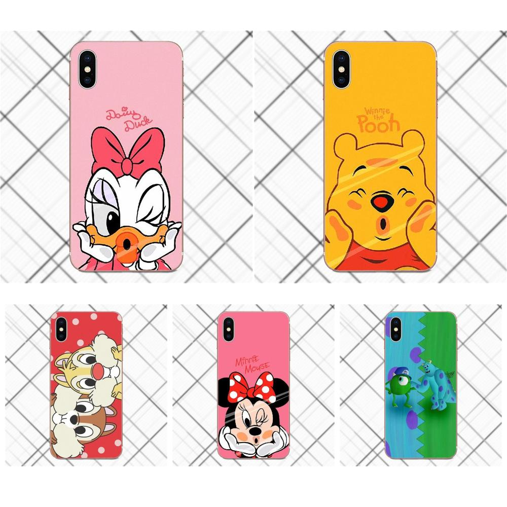 Cartoon Minnie <font><b>Mickey</b></font> Maus Donald Daisy Duck Stich Winnie Pooh Für <font><b>Samsung</b></font> Galaxy A3 A5 A7 J1 J2 <font><b>J3</b></font> J5 j7 2015 <font><b>2016</b></font> 2017 image
