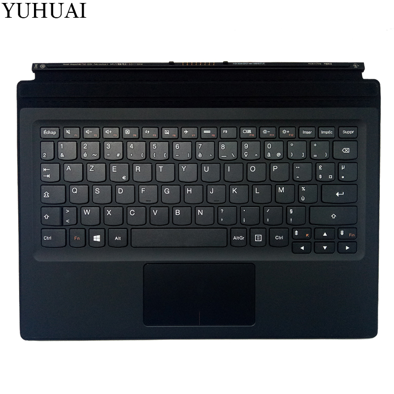 New French keyboard for LENOVO IdeaPad Miix 700-12ISK Miix700-12ISK FR KEYBOARD with palmrest bluetooth keyboard for lenovo miix 300 10 8 miix 310 320 tablet pc wireless keyboard miix 4 5 pro miix 700 miix 510 720 case