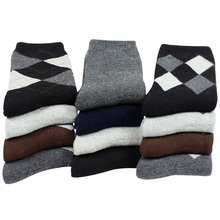 Eur37 44 Men 2018 Winter Thicken Warm Terry Socks Male Business Casual Thermal Rabbit Wool Socks