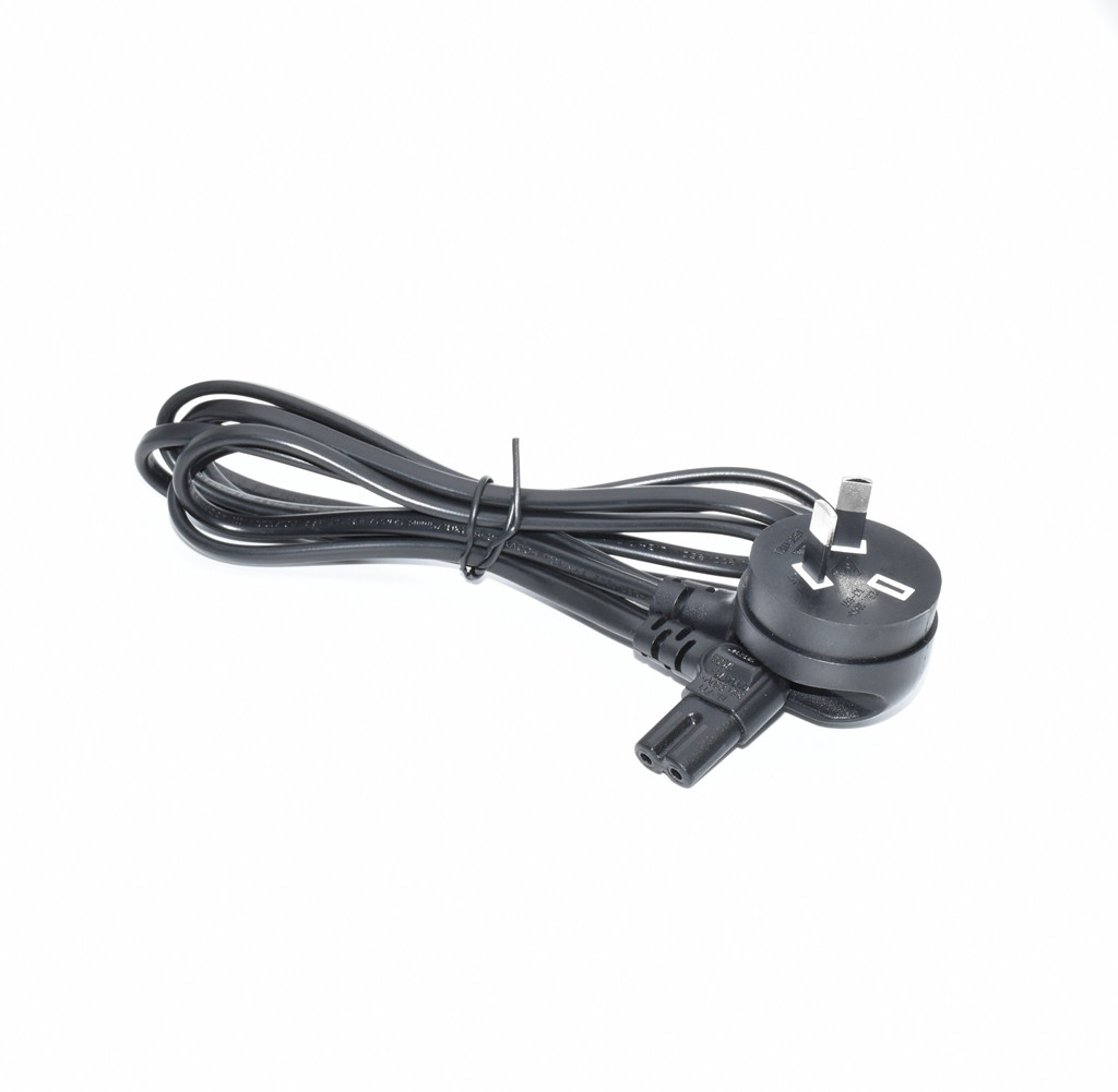 Australia Standard Black 2.0M C7 to AU 2 pins plug extension power cable 90 degrees elbow IEC-C7 side bending power cord цена и фото