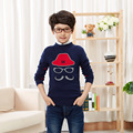 2016 Girls Boys Jumper Autumn Winter Cartoon Sweaters Children Kids Knitted Pullover Warm Outerwear Boys Cardigan Boys Sweater