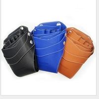 JA-282 PU leather rivets scissors bag shoulder pad belt scissors bag hair scissors bag various colors scissors bag