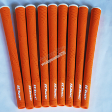 Hot New Golf ročaji Visoka kakovost gume IOMIC Golf voznik prijemala 10 barv v izbiri 100 kosov / veliko Golf voznik prijemala Brezplačna dostava