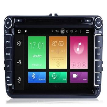 Car Multimedia player Android 9.0 GPS 2 Din Car Radio Audio Auto For VW/Volkswagen/POLO/PASSAT/Golf 8 octa Cores FM Radio IPS