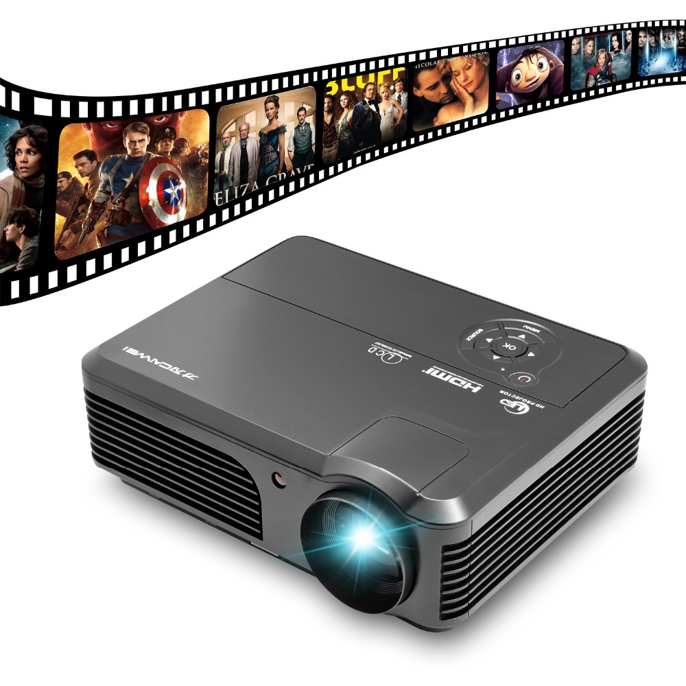 все цены на CAIWEI A6 digital HDMI Home Theatre Support Full HD 1080P Video USB TV Projector LCD LED Proyector Beamer онлайн