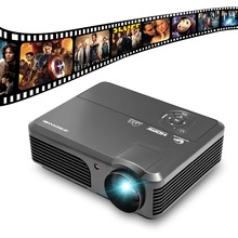 CAIWEI A6 Soporte de Cine En Casa Full HD 1080 P de Vídeo digital HDMI USB TV LCD LED Proyector Proyector Beamer