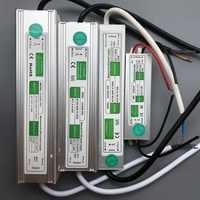 12 V 24 V fuente de alimentación impermeable AC 220 V a DC transformador de iluminación de conmutación 10 W 20 W 50 W 60 W 150 W IP67 LED controlador de adaptador