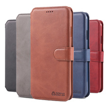 X XS MAX XR 8Plus 6Plus Couples Simple Fashion Flip Wallet Leather Case For Apple iPhone 11 Pro Max 6 7 8 Plus Casing Card Cover