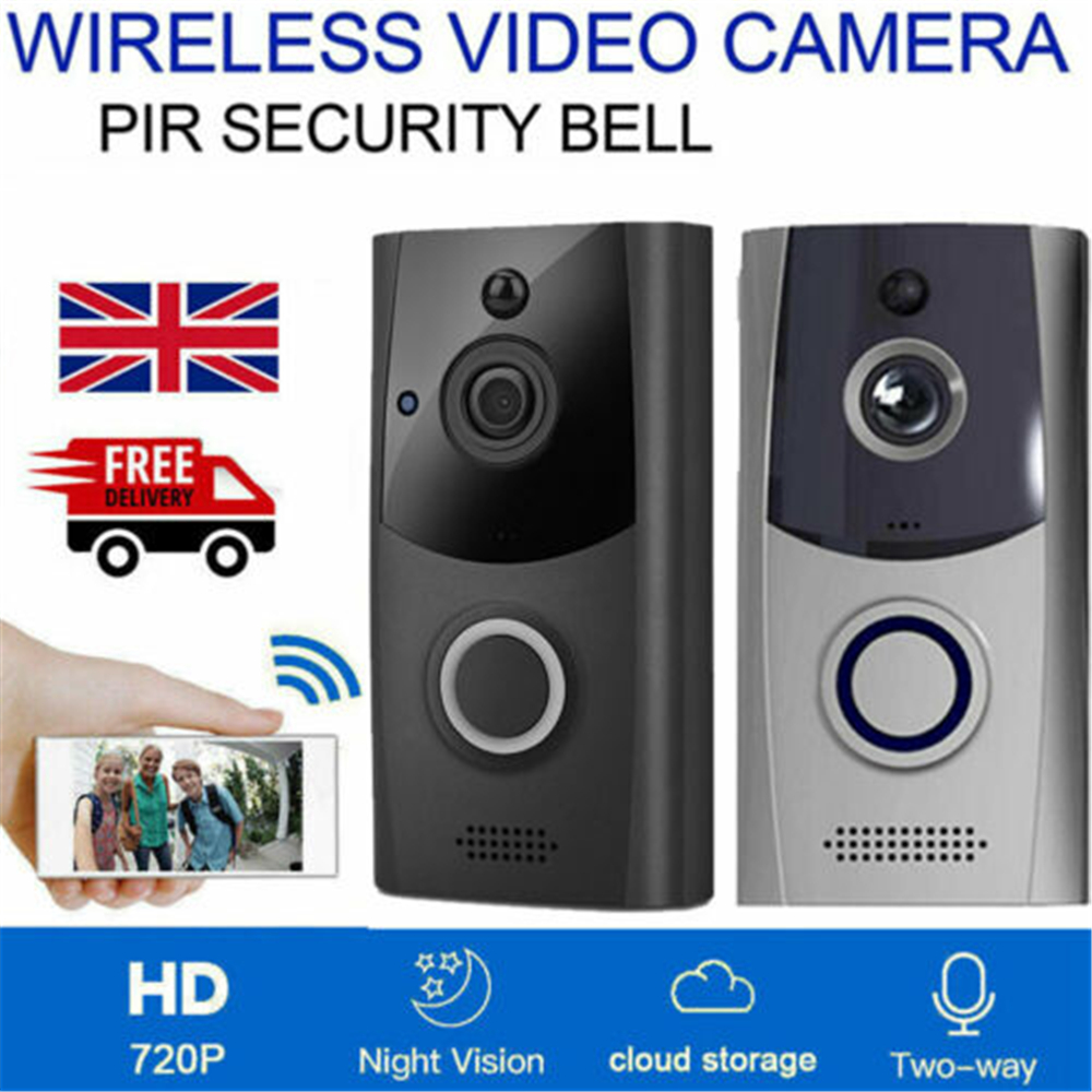 M11 Smart WiFi Doorbell Waterproof Camera Wireless Remote Video Door Bell Night Vision CCTV Chime Phone APP Control Alarm System