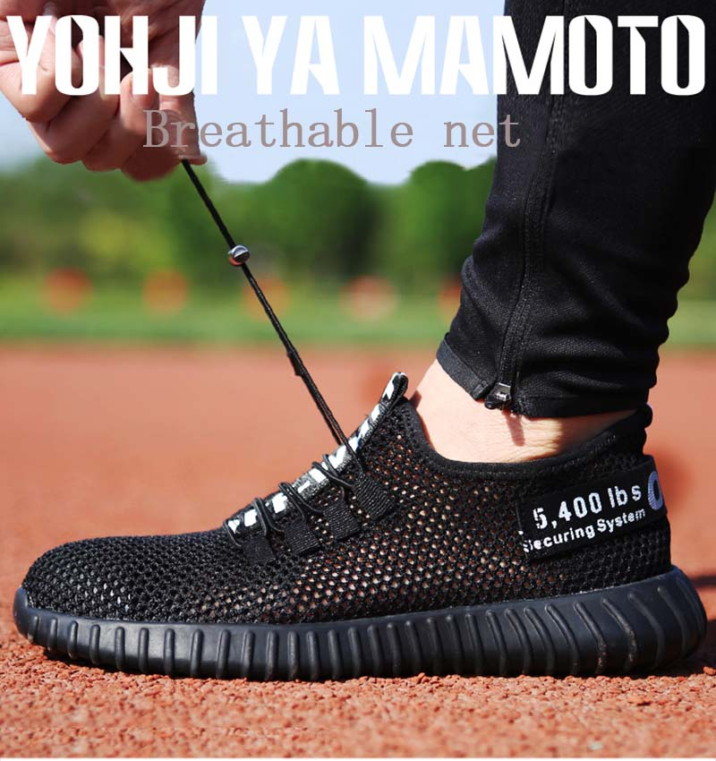 2018- new- Comfortable- breathable- safety- shoes- men -s- Lightweight -summer- anti- smashing- piercing- work -sandals- Single- mesh (4)