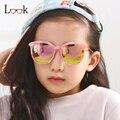 New 2017 gafas de sol para niños niño niña suglass ronda gafas niños gafas de sol de moda diseñador de la marca oculos uv400 gafas al aire libre
