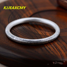 999 fine silver sterling silver jewelry bracelet free shipping Frosted Heart Sutra Creative
