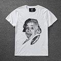 Новая Версия Гуд По Воздуху HBA майка Мужчины Женщины Летом Высокой качество Эйнштейн HBA футболку Хип-Хоп Хлопок Эдисон Ной HBA Т рубашки