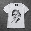 New Version Hood By Air HBA T shirt Men Women Summer High Quality Einstein HBA T shirt Hip Hop Cotton Edison Noah HBA T shirts