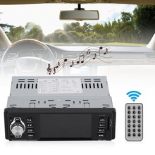 4.1 Inch TFT 1080p HD Car MP5 Player Entertainment Auto Radio FM Music Bluetooth USB/TF Support Steering Wheel Control