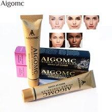 Aigomc Face Concealer Palette Makeup Cover Base Foundation Base Primer Corrector Cream Makeup Hide Tattoo