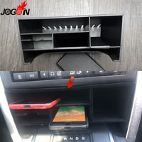 ABS Front Interior Console Partition Container Storage Box Organizer Phone Holder For Land Rover Discovery Sport 2015 2016 2017