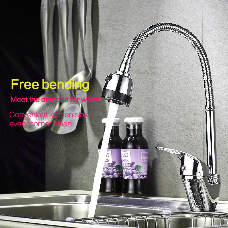 Russia Free Shipping Torneira Cozinha Basin Kitchen Faucet Sink Faucet Chrome Pull Down Tap Dual Sprayer