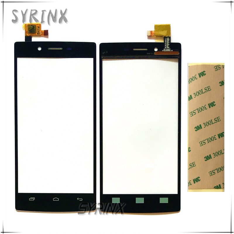 Syrinx For iocean X7 X7S FLHD FHD HD Turbo Plus&Elite&Young Touch Screen Digitizer Sensor Panel HF502ODOGS-V2 & OS0050111 FP1V02