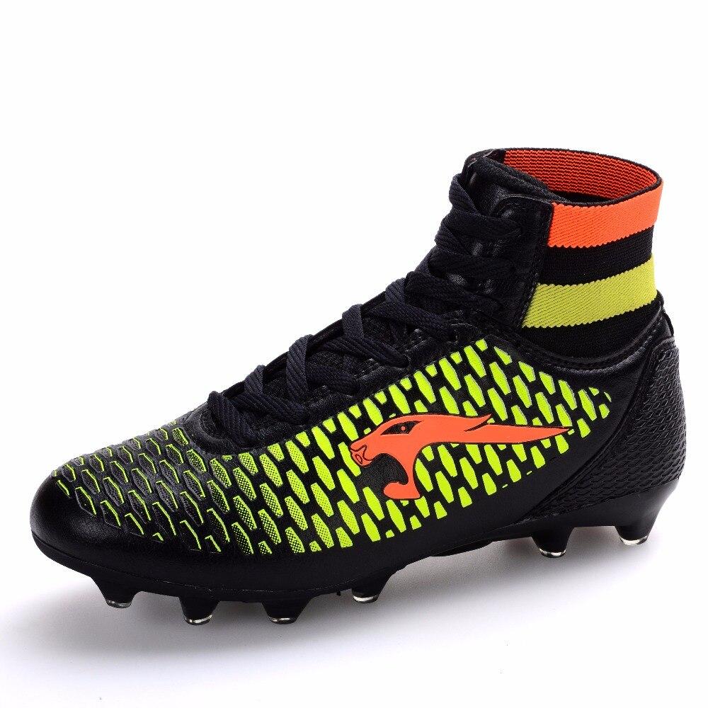 Hombres Botas de Alta Top Kids Niños Zapatos de Fútbol Pico Largo Barato Al  Por Mayor luces peso Entrenadores Cleats Tamaño 33 46 en Zapatos de fútbol  de ... e7758bb6b014e