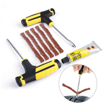 Vacuum Car Tire Repair Tool Kit Auto Tubeless Tire Repair Kit Auto Professional Accessories Universial Cars Auto Accessories