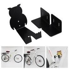 купить Bike Wall Holder Mount Bike Showing Stand Hanger Bike Mountain Wall Mounted Bicycle Storage Hook Rack Bicycle Racks по цене 1057.29 рублей