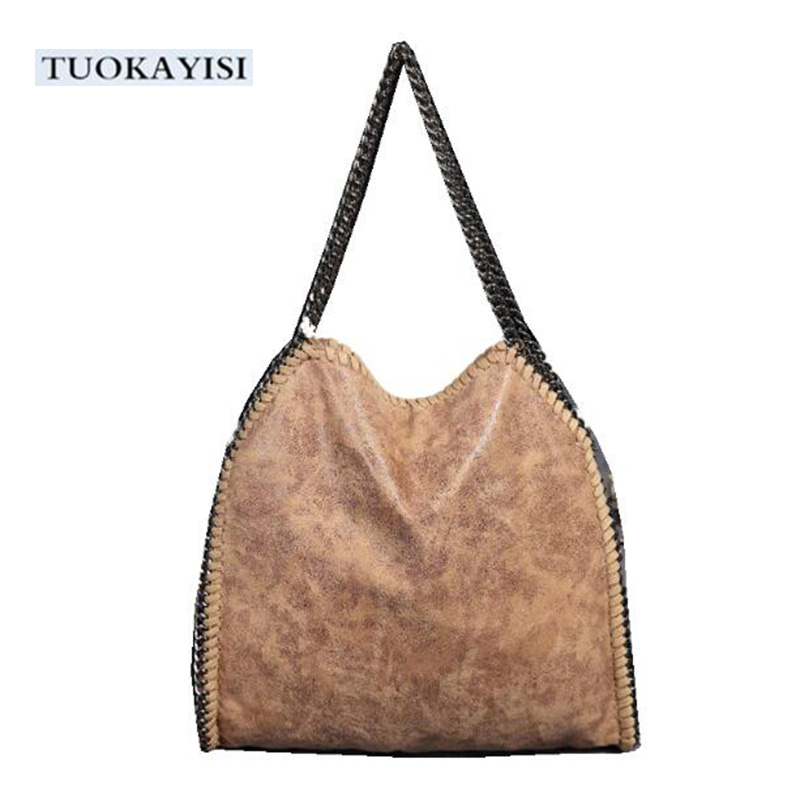 купить Ladies New Vintage Handbag fashion design Women Shoulder Bag Female Large Tote Bags Soft Leather Crossbody Ladies Messenger Bag по цене 5779.79 рублей
