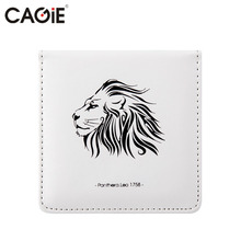 Cagie Cute Stationery Office Memo Pad Animal & Tree Pattern Pu Leather Notepad 150 Page Kawaii Business Planner Note