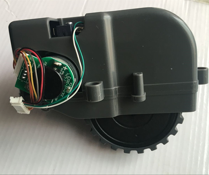 vacuum cleaner left right Wheel Assembly for ecovacs deebot CR120 CEN540 dibea X500 vacuum cleaner parts wheel replacement side brush motors assembly for panda x500 vacuum cleaning robot including left motor assembly x1pc right motor assembly x1pc