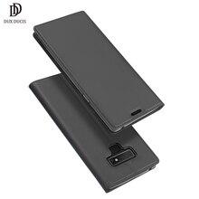 DUX DUCIS чехол из искусственной кожи с защелкой для samsung Galaxy Note 9 Чехол-книжка с подставкой для samsung Note 9 Note9 чехол для телефона Funda Coque