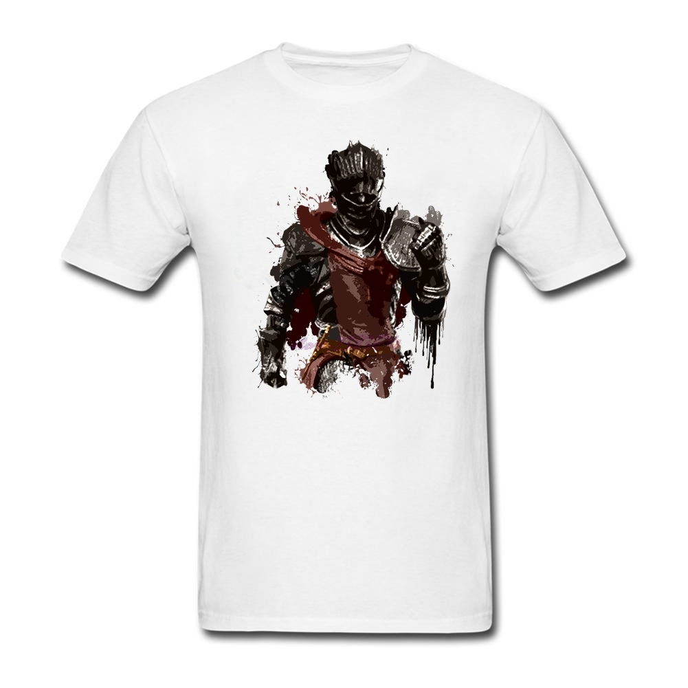 Design your own t shirt dress - Free Shipment Man Red Knight Splatter Organic Cotton Crewneck Summer Dress Man Short Sleeves Printed Custom T Shirts