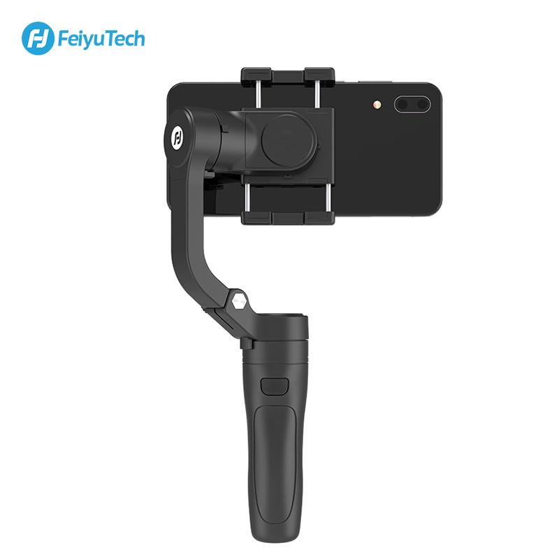 Image 4 - FeiyuTech Vlog Pocket 3 Axis Handheld MINI Phone Gimbal Smartphone Stabilizer for iPhone X 8 7 Plus, HUAWEI P20 MI Samsung Note9-in Handheld Gimbals from Consumer Electronics