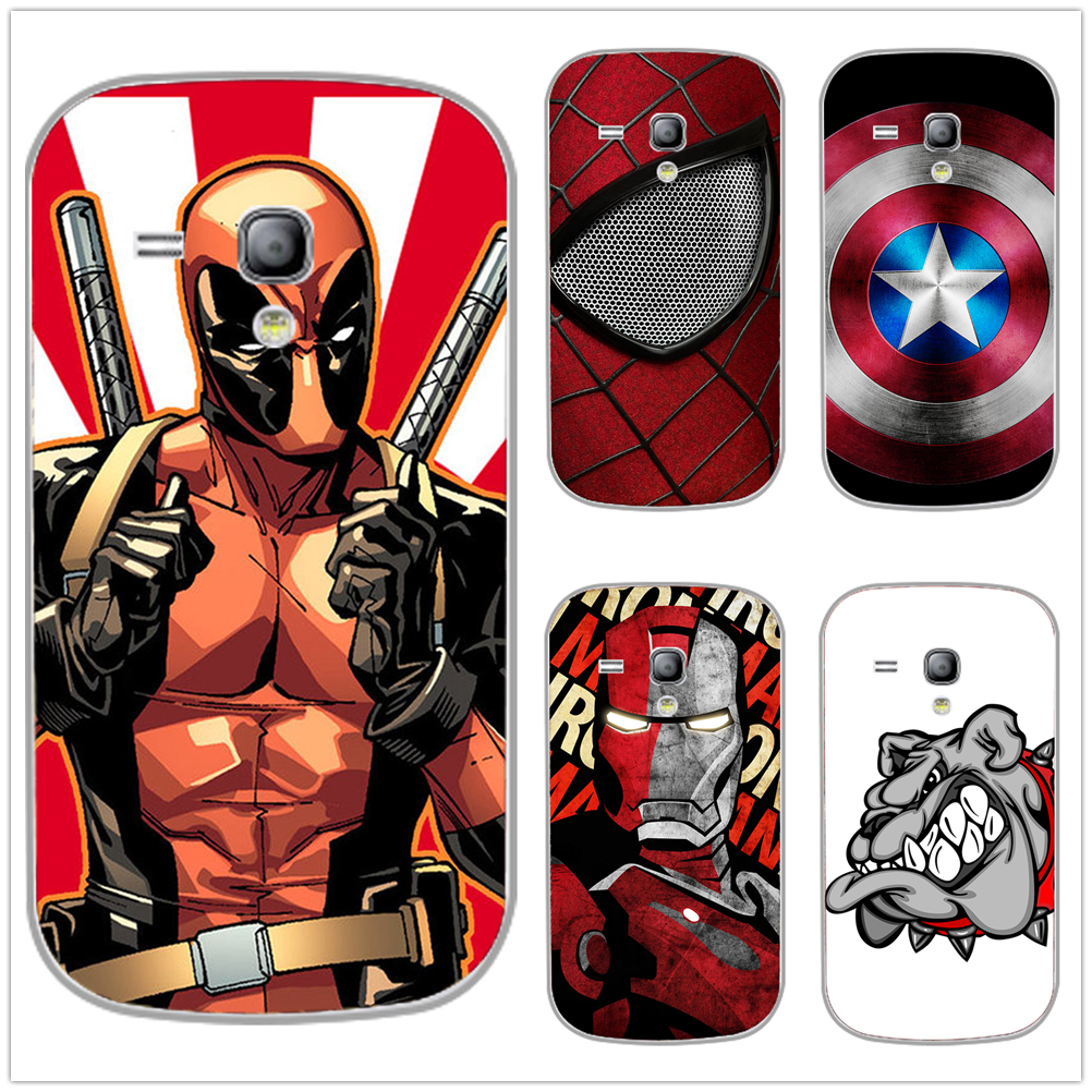 <font><b>Super</b></font> <font><b>Hero</b></font> Animal Tiger Iron <font><b>Spider</b></font> Eye Lion <font><b>Man</b></font> Cartoon Printing Soft TPU Case Cover For <font><b>Samsung</b></font> <font><b>Galaxy</b></font> S3 <font><b>Mini</b></font> i8190 S3Mini