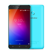 Blackview E7 5.5 Inch Android 6.0 4G Smartphone Quad Core 1GB+16GB Mobile Phone MTK MT6737 1.3GHz 8.0MP 2700mAh Smartphone