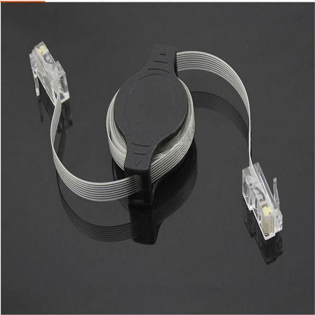 Portable 1.5M Network Extension Cable RJ45 Lancable Laptop ...