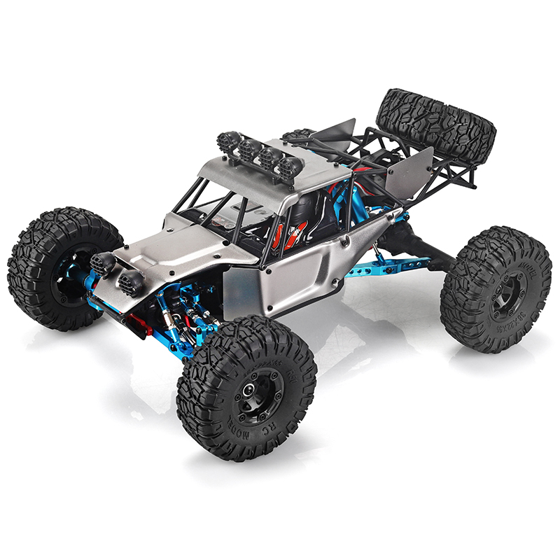 Image 2 - RC Car feiyue fy 03H RTR 2.4g 4WD 4 channel 4x4 70km/h RC car desert truck brushless metal upgrade PK WLtoys 12428 12423-in RC Cars from Toys & Hobbies