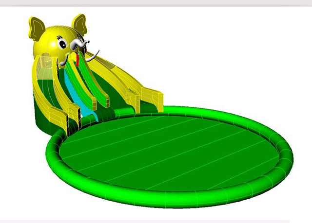 (China Guangzhou) manufacturers selling Water toys, water roller, Pool slides ,COB-468