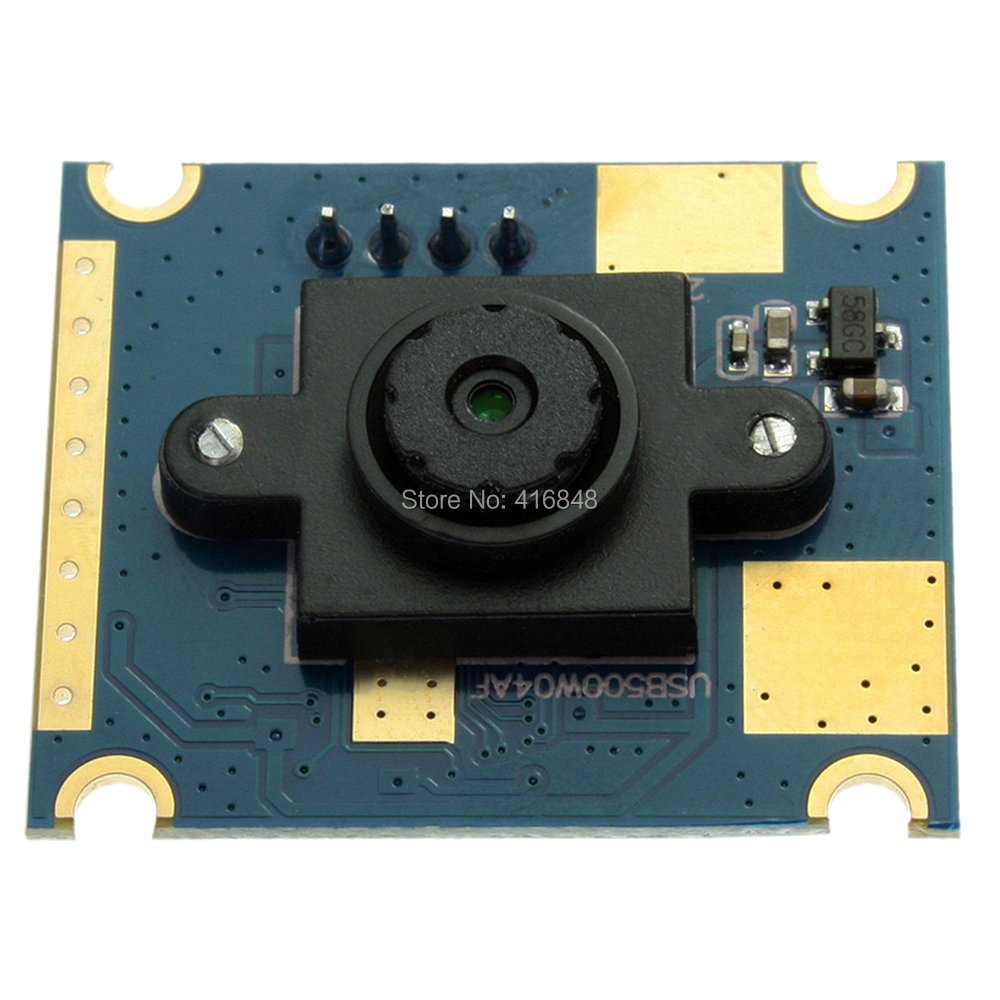 5mp 30x25mm Mini Cmos Ov5640 Micro Usb Met Camera Module Met 60 Graden Vaste Lens