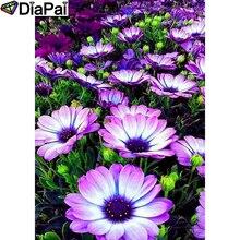 DIAPAI 100% Full Square/Round Drill 5D DIY Diamond Painting Flower landscape Diamond Embroidery Cross Stitch 3D Decor A19204 цена