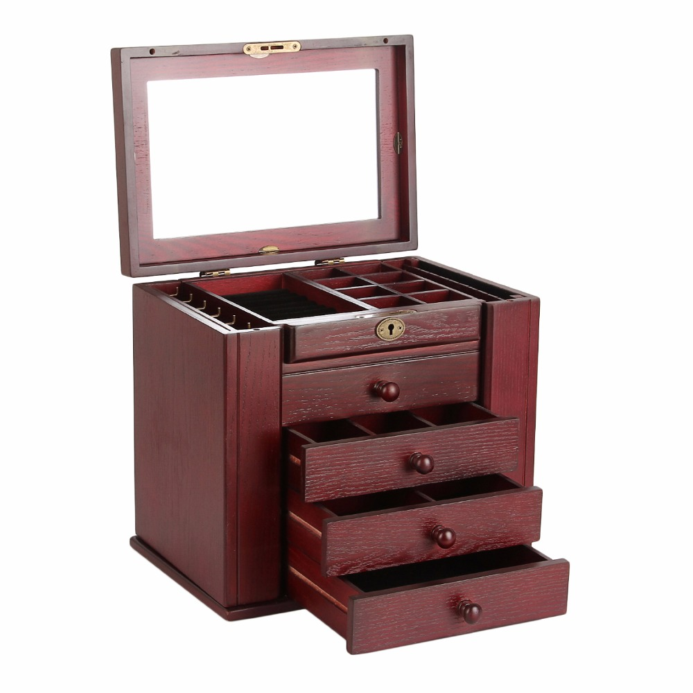 ROWLING Wooden Extra Large Jewelry Box
