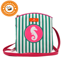 BONAMIE Brand Design Women Messenger Bags Stripe Tassel Beach Bag Female Fashion Mermaid Shell Crossbody Girl Shoulder
